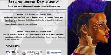 Beyond Liberal Democracy: African & Western Perspectives in Dialogue, Sem I tickets