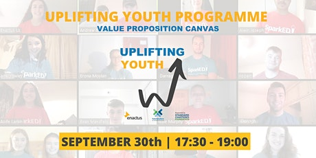 Uplifting Youth Programme: Value Proposition Canvas tickets