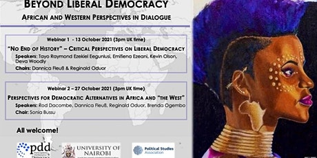 Beyond Liberal Democracy: African & Western Perspectives in Dialogue/Sem 2 tickets