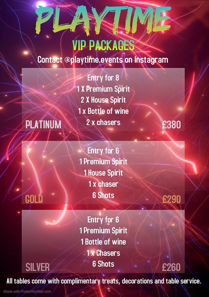 PLAYTIME - DJ SWIVO & DANCEHALL GENERALS image