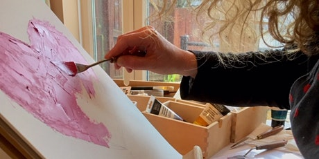 Intuitive, abstract painting workshop tickets