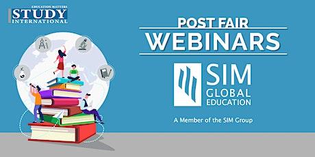 Post-Fair FREE Webinar: Singapore Institute of Management tickets