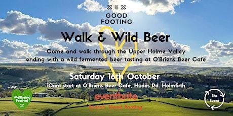 Walk & Wild Beer Tasting - NEW DATE! tickets
