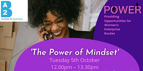 'The Power of Mindset' tickets