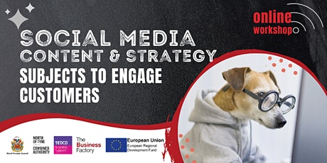 Social Media Content and Strategy  - 1pm tickets