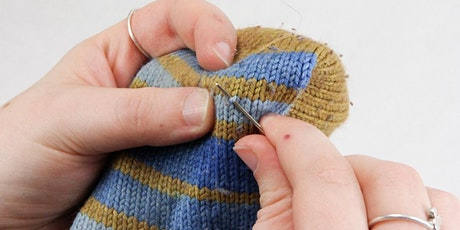 Learn to Sew: Introduction to Darning (Afternoon session) tickets