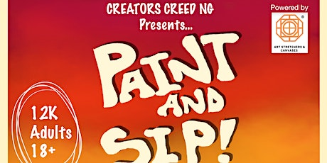 PAINT AND SIP WITH CREATORS CREED NG tickets