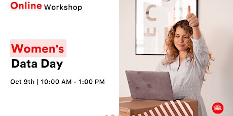 Women's Data Day: Data Analytics with Python for beginners tickets