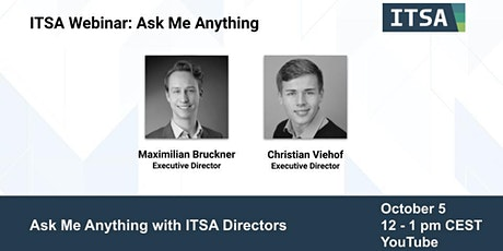 ITSA Ask Me Anything tickets