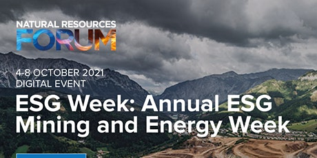 ESG WEEK: ENERGY AND MINING FORUM CLOSING DINNER tickets