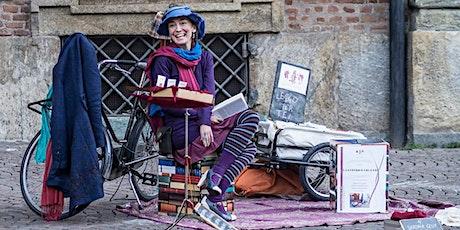 La Biblioteca legge Con ... Bugiardini letterari a cura di Chiara trevisan biglietti