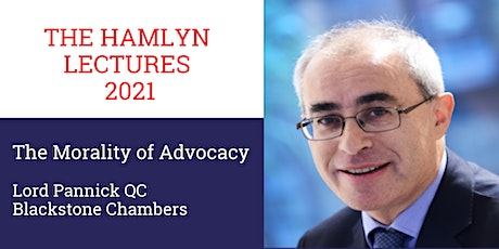 Hamlyn Lectures 2021: The Morality of Advocacy (Live-Streamed from Cardiff) tickets