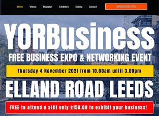 FREE business Expo & Networking Event at Elland Road LEEDS tickets