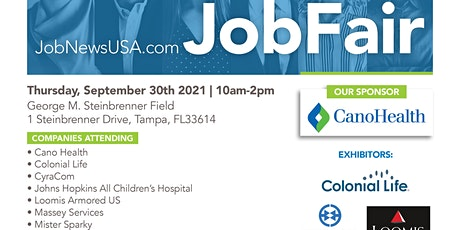 Tampa  Job Fair - 100's of Jobs Available on September 30th tickets