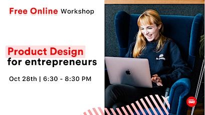 Workshop - UX & UI Design for Entrepreneurs tickets