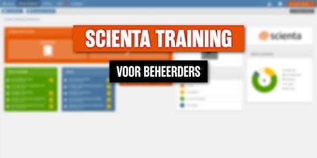 Scienta Beheerderstraining 2 november 2021 tickets