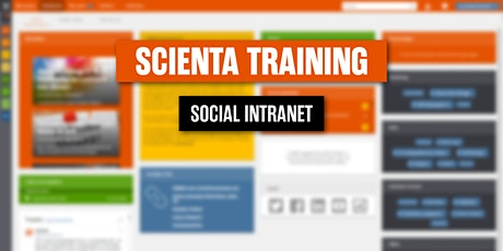 Scienta inzetten als Sociaal Intranet 11 november 2021 tickets