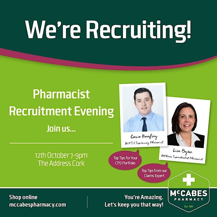 Pharmacist Recruitment Evening image