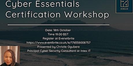 Cyber Essentials Certification Workshop tickets