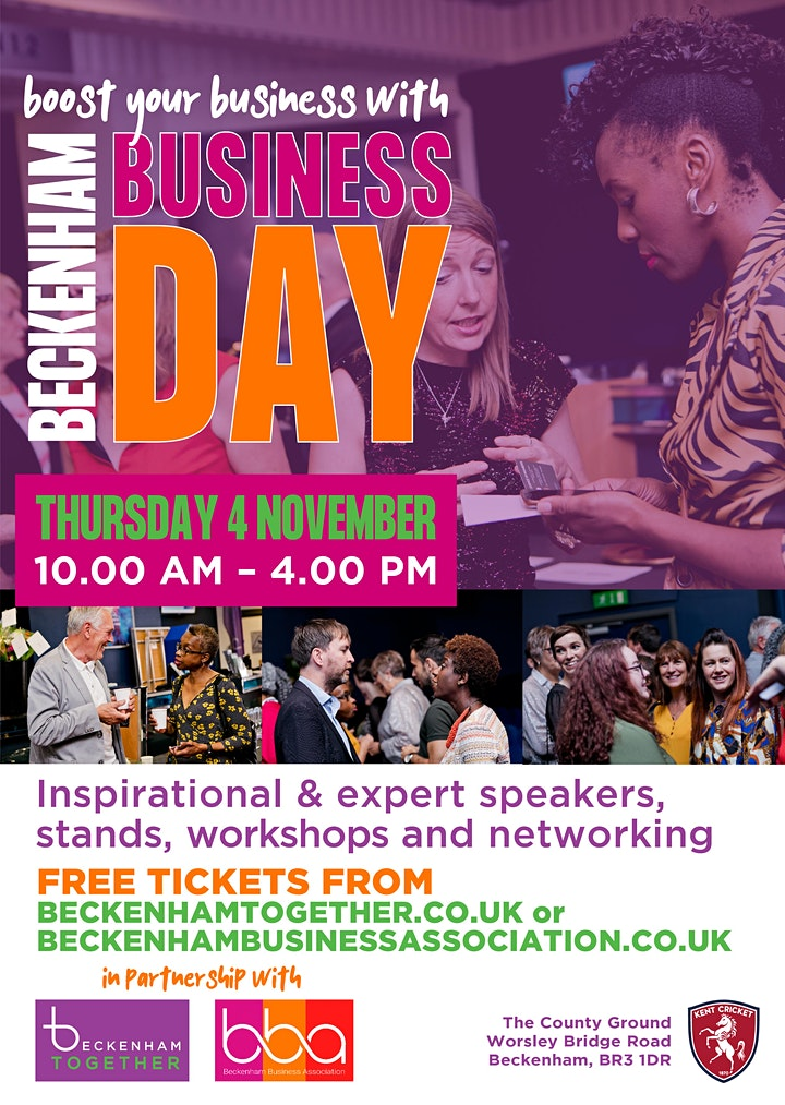 Beckenham Business Day 2021 image
