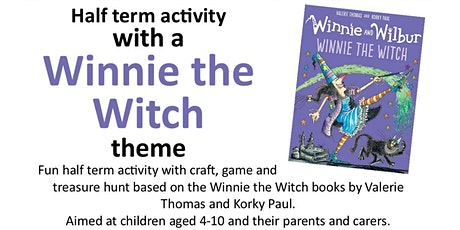Winnie the Witch - half term activity - Stalybridge Library tickets