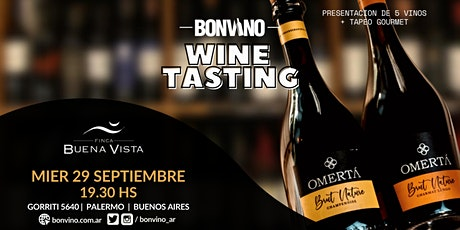 Tasting  Wine Finca Buena Vista entradas