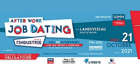 Job-dating UIMM Finistère - Landivisiau - 21/10/2021 billets