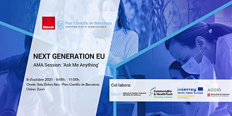 AMA Session: Ask Me Anything about Next Generation EU entradas