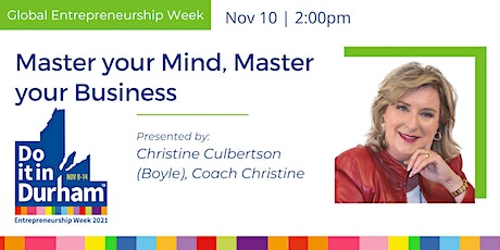 Master your Mind, Master your Business tickets