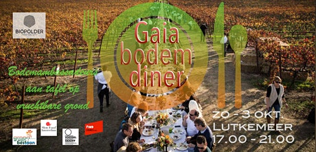 GAIA: Bodem Diner. 4 gangen najaar PopUp resto in kas van Pluk Lutkemeer tickets