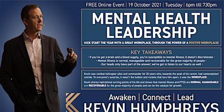 Mental Health Leadership tickets