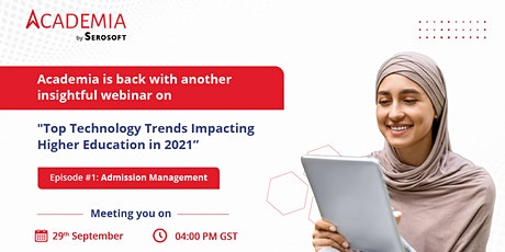 Top Technology Trends Impacting Higher Education in 2021 tickets