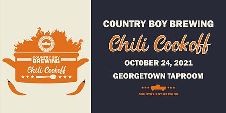 2021 Country Boy Brewing's Chili Cookoff: Competitor Sign Up tickets