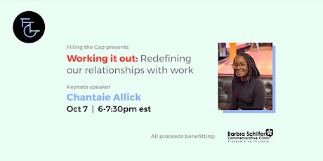 Working It Out: Redefining our Relationship with Work tickets