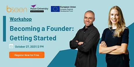 Becoming a Founder: Getting Started tickets