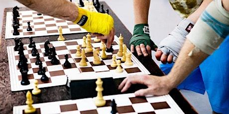 Andersdenken hilft - Schachboxen im Goldenen Haus Tickets