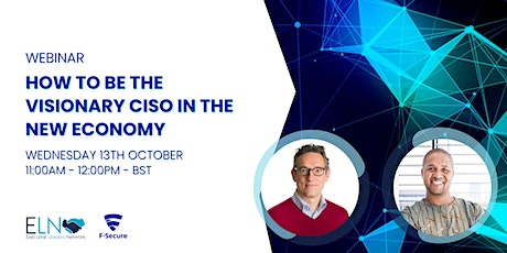 Panel Discussion: How to be the Visionary CISO in the New Economy tickets