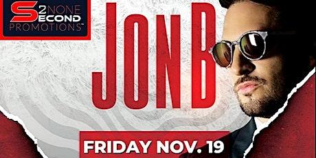 Jon B Live in Concert at Club Echelon Featuring Danny Boy & Comic J Will tickets