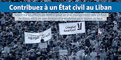 Venez rencontrer le parti libanais Citoyens et Citoyennes dans un Etat tickets