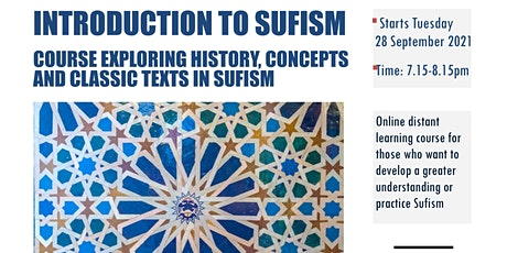 Introduction to Sufism - Perspectives and Practice tickets