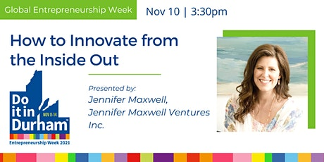 How to Innovate from the Inside Out tickets