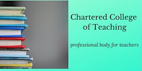 Meet Chartered College of Teaching (online) tickets