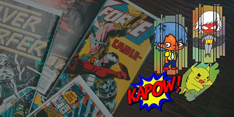 Awesome Online Comic Art Workshop tickets