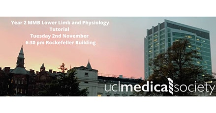 Year 2 MMB Lower Limb and Physiology Tutorial tickets
