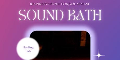 Sound Bath With Tani tickets