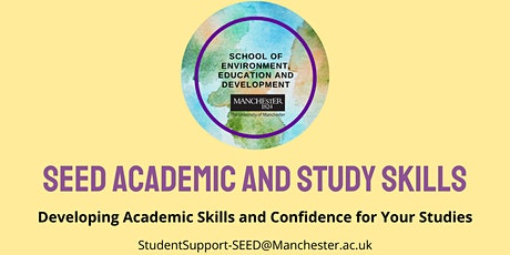 SEED Study Skills - Time Management tickets