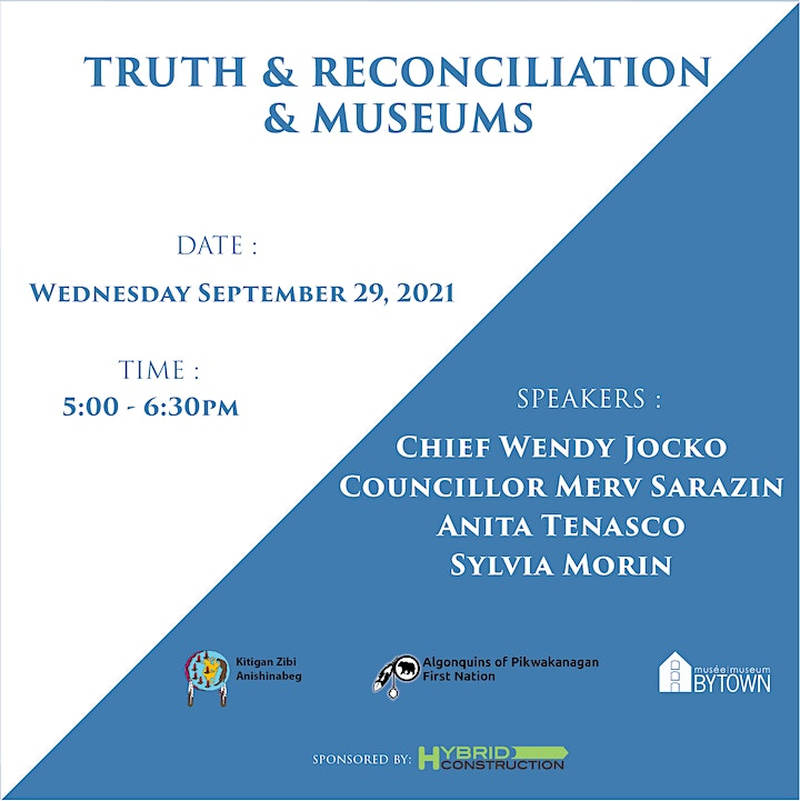 Round Table of Algonquin Leaders on Truth and Reconciliation and Museums image