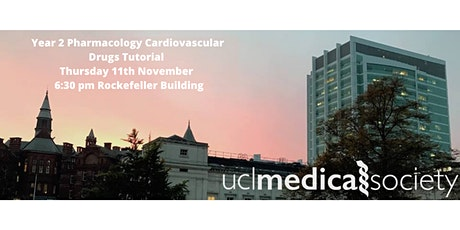 Year 2 Pharmacology Cardiovascular Drugs Tutorial tickets