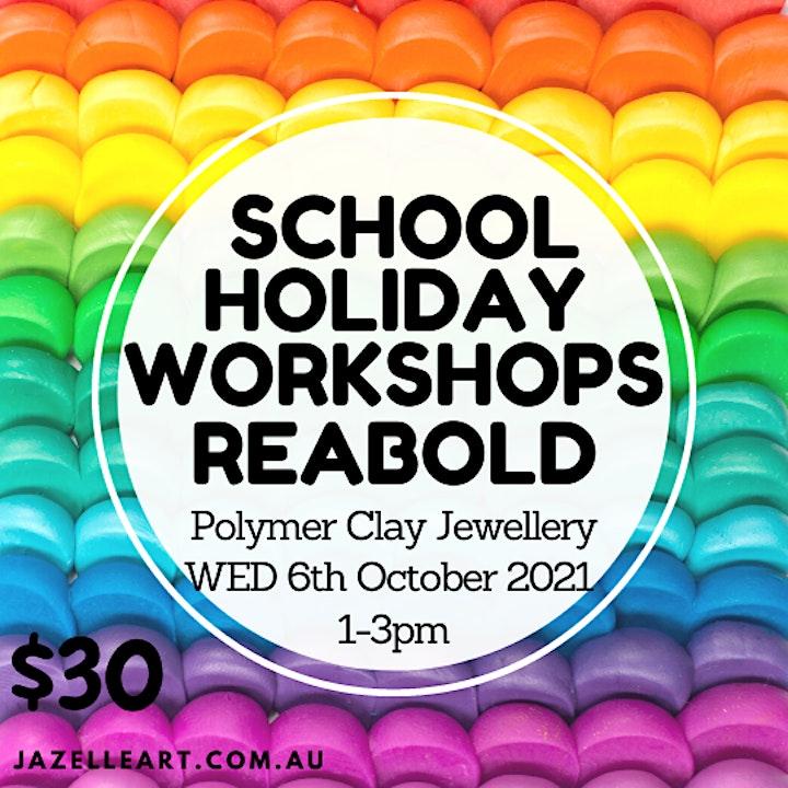 Polymer Clay School Holiday Workshop image