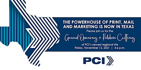 PCI Texas - Grand Opening tickets
